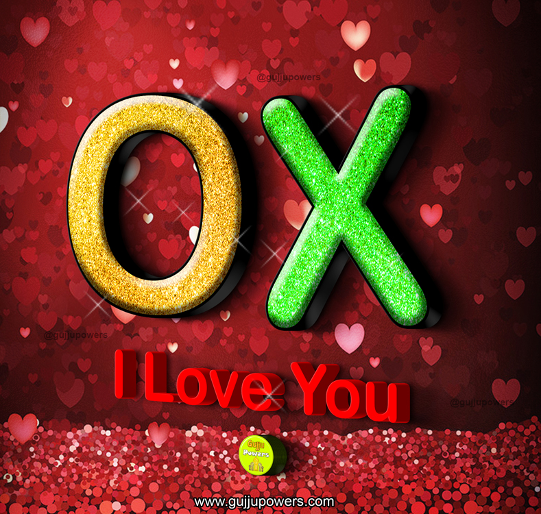 I Love You OX
